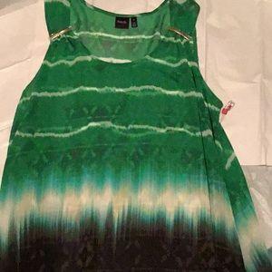 Sheer Tunic Top/Dress Shark Bite